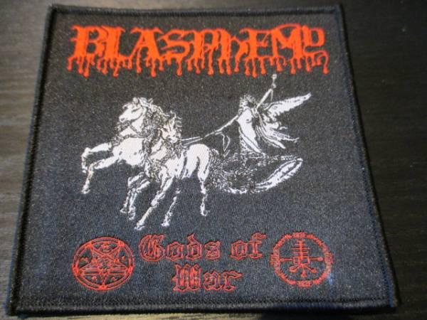BLASPHEMY 刺繍パッチ ワッペン gods of war / mayhem morbid