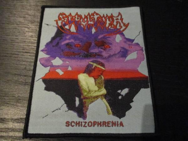 SEPULTURA 刺繍パッチ ワッペン schizophrenia / sodom slayer