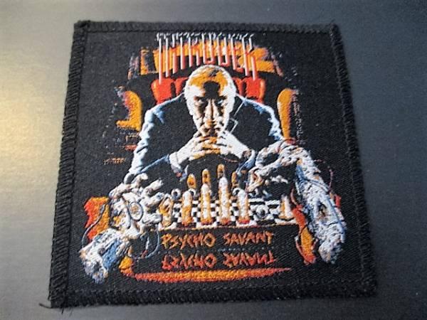 INTRUDER 刺繍パッチ ワッペン psycho savant / metallica