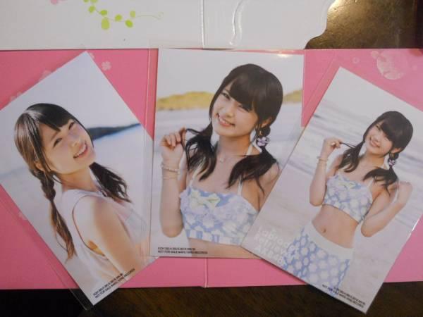 NMB渋谷凪咲 ラブラドールレトリバー通常盤写真3枚コンプ 水着白