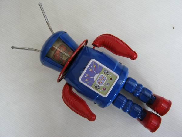 【Xー27 EXPLORER(エクスプローラー)ブリキ ロボット】箱入_画像2