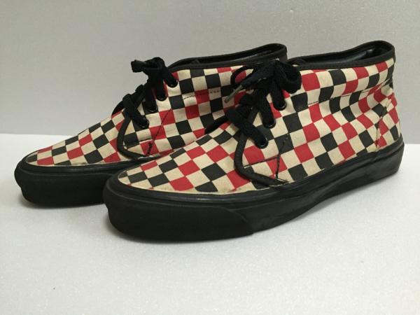 レア!90s VANS バンズ オールド ビンテージ スケートボード スニーカー アメリカ製 made in USA OLD vintage SK8 skateboard shoes_Vans 90s オリジナル チャッカブーツ