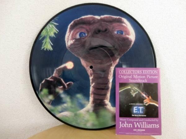 1982年 「E.T」 ピクチャーレコード サウンドトラック 送料無料