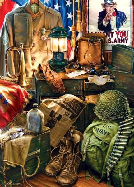 (71510) 米国輸入●MAS● 男性の名誉 Men Of Honor1000ピース_画像1