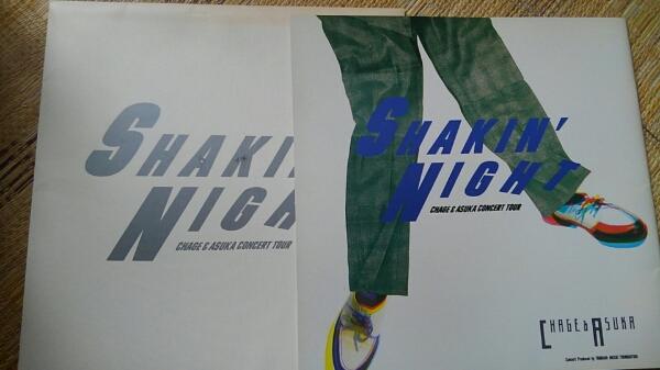 国内送料込 CHAGE and ASKA チャゲアス パンフ SHAkin' NIGHT 85
