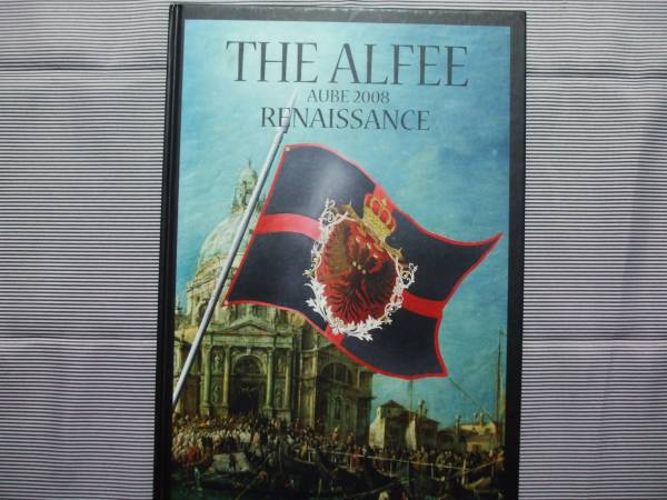 THE ALFEE AUBE 2008【RENAISSANCE】ツアーパンフレット