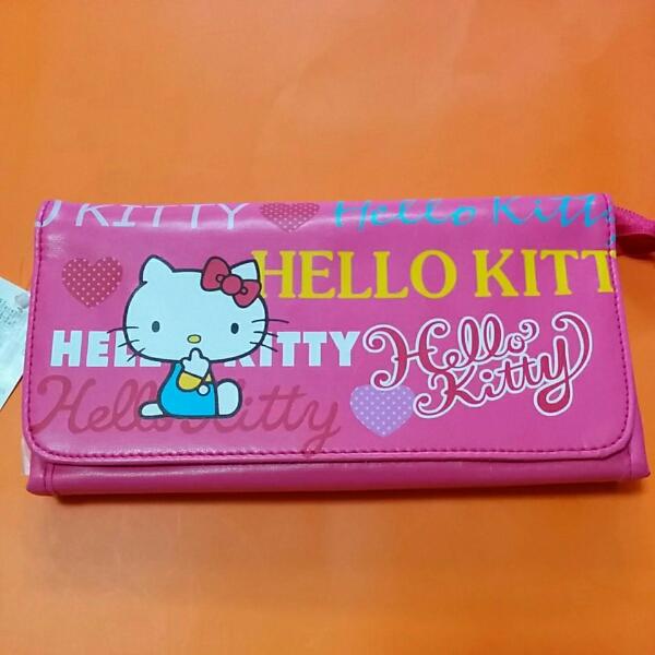 【新品】HELLO KITTY ハローキティ ペンポーチ【送料無料】 グッズの画像