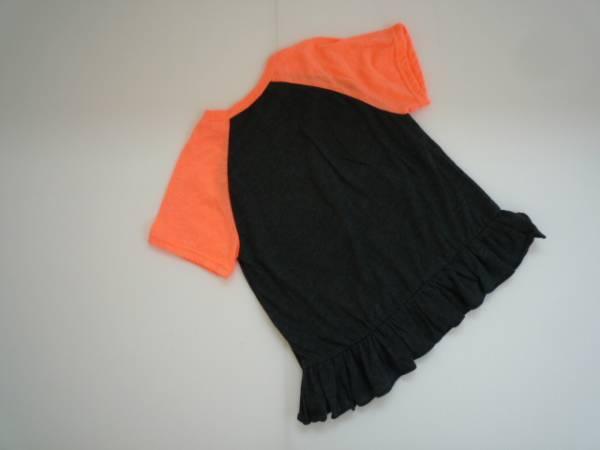 【新品・60%OFF】 ■shushu rabbit■ 韓国子供服 裾フリルTシャツ_画像2