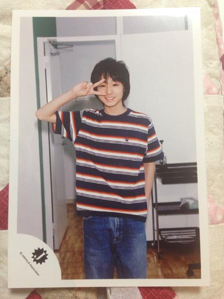 Hey!Say!JUMP 伊野尾慧 Jr時代 公式写真4 1枚 コンサートグッズの画像