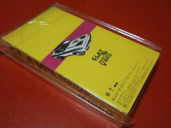 新品未開封 GLAY グレイ 最近版 BOOTLEG VIDEO ブートレグビデオ NOT FOR SALE TERU TAKURO HISASHI JIRO ヴィジュアル系 V系_画像3