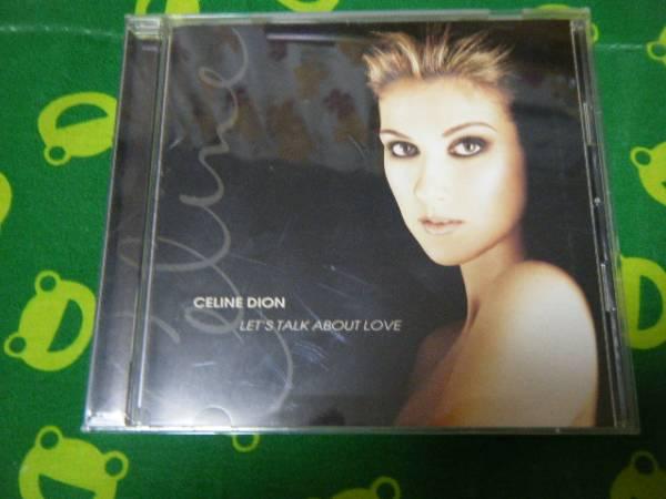 ☆中古CD セリーヌ・ディオン Let's Talk About Love 1オーナー