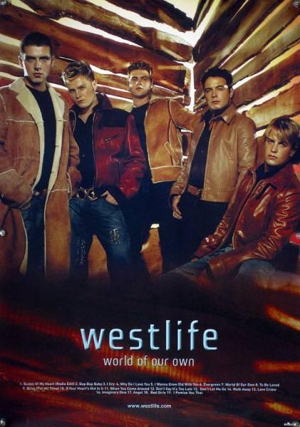 westlife ウエストライフ B2ポスター (1Q14005)