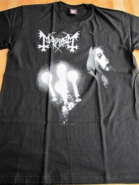 MAYHEM Tシャツ Live In Leipzig 黒M / morbid black metal
