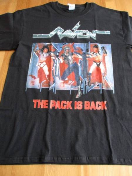 RAVEN Tシャツ pack is back 黒M レイヴン