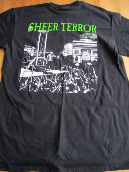 Sheer terror Tシャツ 黒M / agnostic front leeway cro-mags