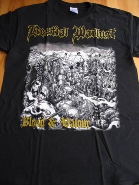 Bestial warlust Tシャツ blood&valour 黒M / revenge
