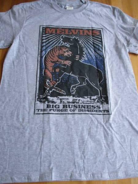 MELVINS Tシャツ big business グレーM / black flag pearl jam