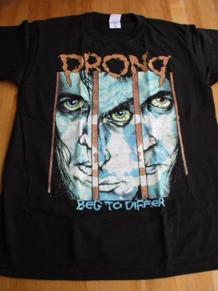 PRONG Tシャツ Beg To Differ 黒M / metallica anthrax pushead
