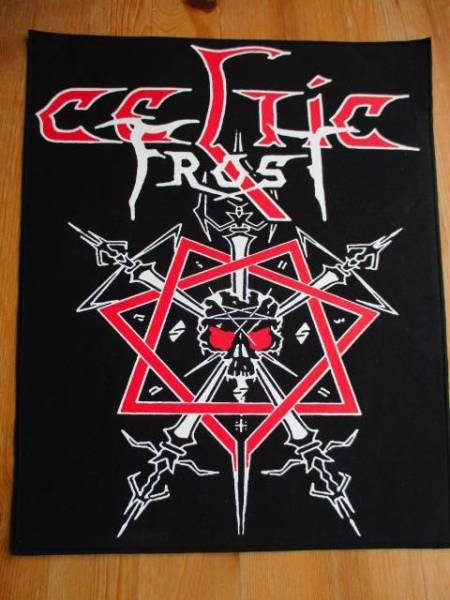 CELTIC FROST プリントバックパッチ ワッペン morbid tales