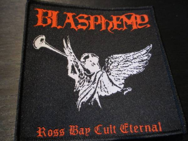 BLASPHEMY 刺繍パッチ ワッペン ross bay cult / mayhem morbid