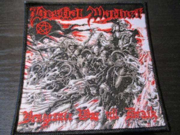 Bestial Warlust 刺繍パッチ ワッペン vengeance / blasphemy