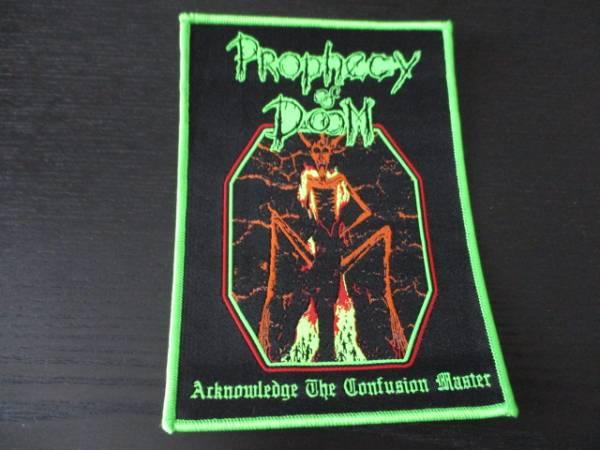 Prophecy of Doom Acknowledge 刺繍パッチ ワッペン 緑枠