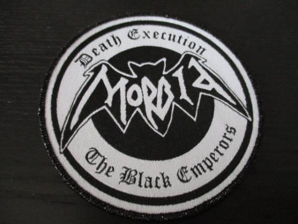 MORBID 丸形刺繍パッチ ワッペン death execution