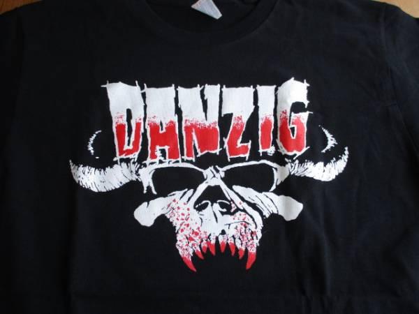 DANZIG Tシャツ bloody logo 黒M / misfits samhain
