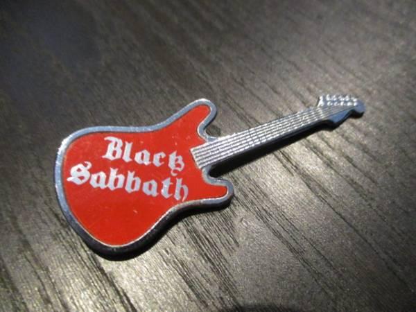 BLACK SABBATH メタルピンバッジ guitar shaped ヴィンテージ