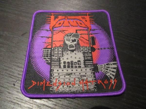 VOIVOD 刺繍パッチ ワッペン dimension hatross 紫枠