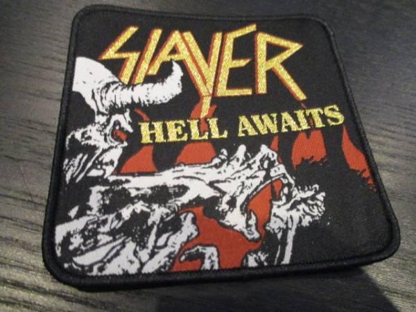 SLAYER 刺繍パッチ ワッペン hell awaits