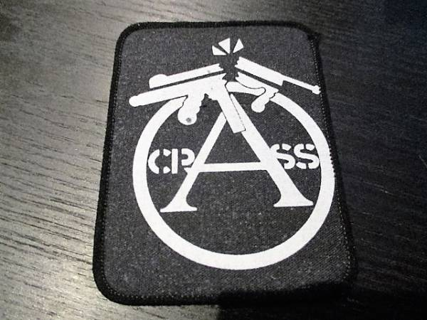 CRASS プリントパッチ ワッペン ヴィンテージ / discharge crust