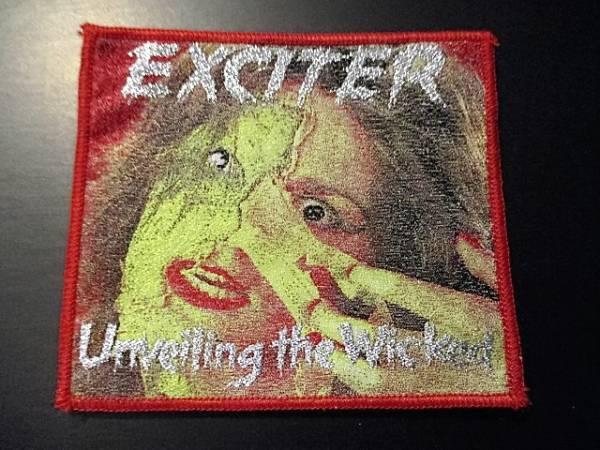 EXCITER 刺繍パッチ ワッペン unveiling / metallica saxon