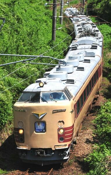 鉄道 デジ 写真 画像 485系 Do32編成 まつり宮崎号 日豊本線 1_画像1