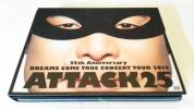DVD 初回限定盤 25th Anniversary DREAMS COME TRUE CONCERT TOUR 2014 Attack25 再生確認済み