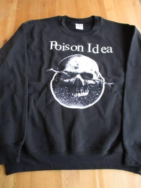 POISON IDEA スウェット 黒M / black flag bad brains
