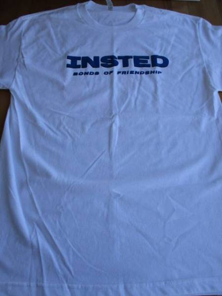 INSTED Tシャツ friendship 白L / youth of today bold judge