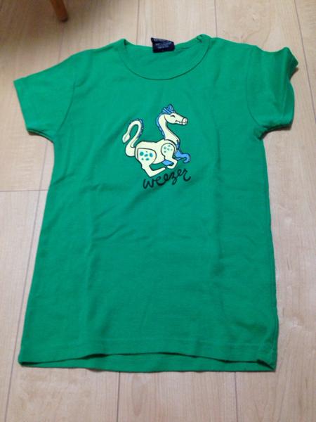 ウィーザー weezer Tシャツ 女性サイズ 美品☆