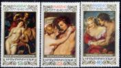 ブルガリア1977#2444-ルーベンス400年3完 未 $3.20