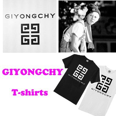 BIGBANG / G-DRAGON 【GIYONGCHY】 Tシャツ BK−XLサイズ