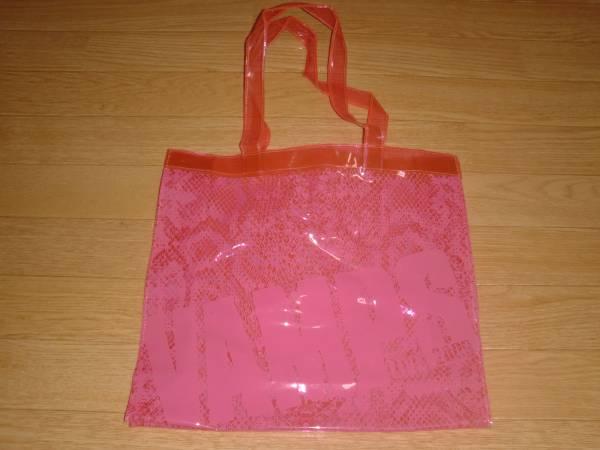 未使用●VAMPS●LIVE 2009 ビニールトートバッグ● ピンク