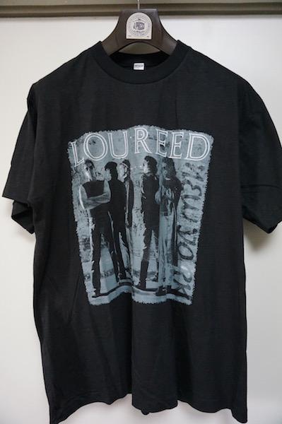 ルーリード/Lou Reed/1990年ジャパンツアーTシャツ/未使用