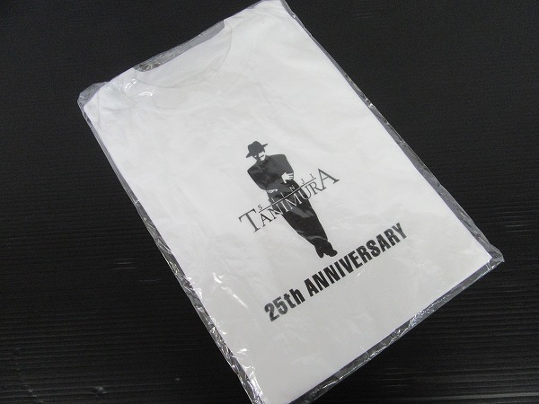 e4119 未使用★谷村新司 25周年記念Tシャツ