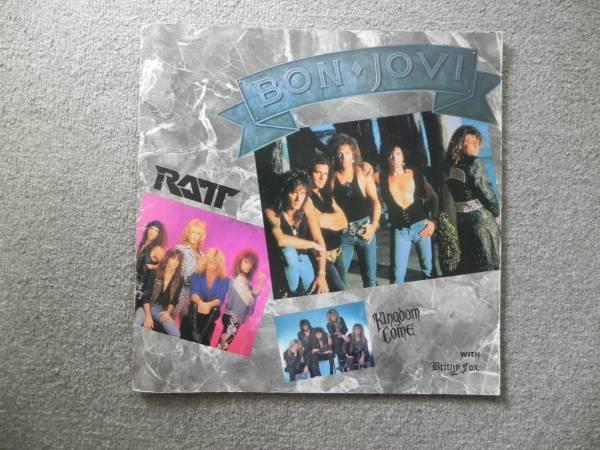 ヒート・ビート・ライブ '89 イン ビッグエッグ BON JOVI RATT