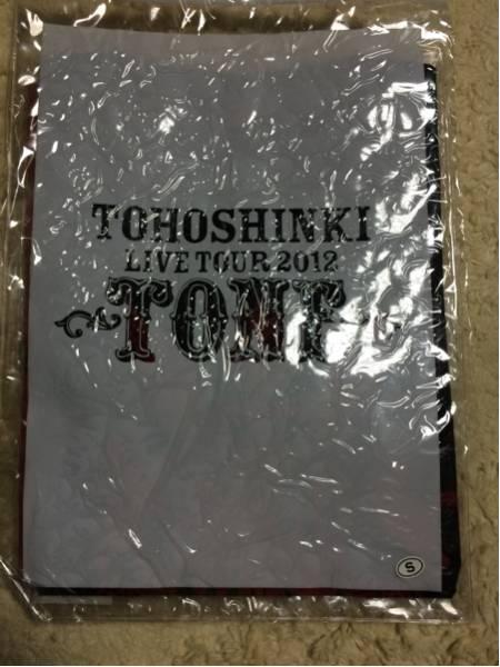 東方神起☆TONE☆Tシャツ☆黒ファスナーケース入☆Sサイズ☆ ライブグッズの画像