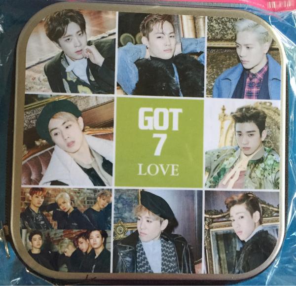 GOT7 CDケース DVDケース ラス1 ライブグッズの画像