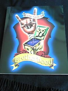 B'z Live-Gym 99 Brotherhood ライブツアーパンフレット 即決