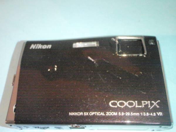 0073 ★パーツ取り品★ Nikon製デジカメ COOLPIX S60