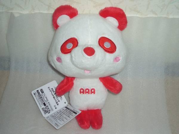 即決!AAA え~パンダ ビッグヘッドぬいぐるみ 伊藤千晃 赤