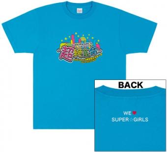 SUPER☆GiRLS 超絶☆革命 オリジナルTシャツ ライブグッズの画像